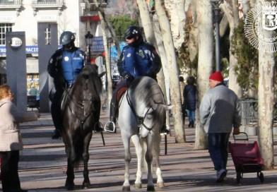 """La Policía Municipal patrullará a caballo y con perros ante """"el incremento de la inseguridad"""" en Latina"""