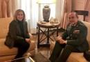 Dancausa da la bienvenida al Coronel Pérez de los Cobos, nuevo máximo responsable de la Guardia Civil en Madrid