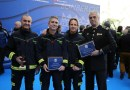 Cibeles acoge la entrega los reconocimientos y las distinciones del Cuerpo de Bomberos de Madrid