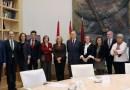 Manuela Carmena se reúne con la nueva directiva del Colegio de Abogados de Madrid