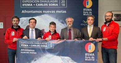 La expedición madrileña del alpinista Carlos Soria al Dhaulagiri estará patrocinada por IFEMA