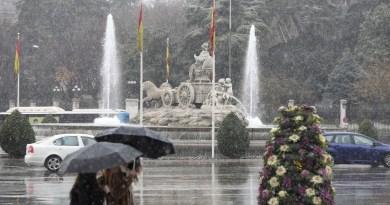 Llegan las lluvias y las fuertes tormentas a Madrid
