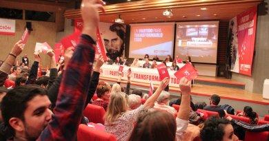 El PCM suspende su Comité Regional de esta tarde y convoca a la movilización en protesta por la sentencia en el juicio a La Manada