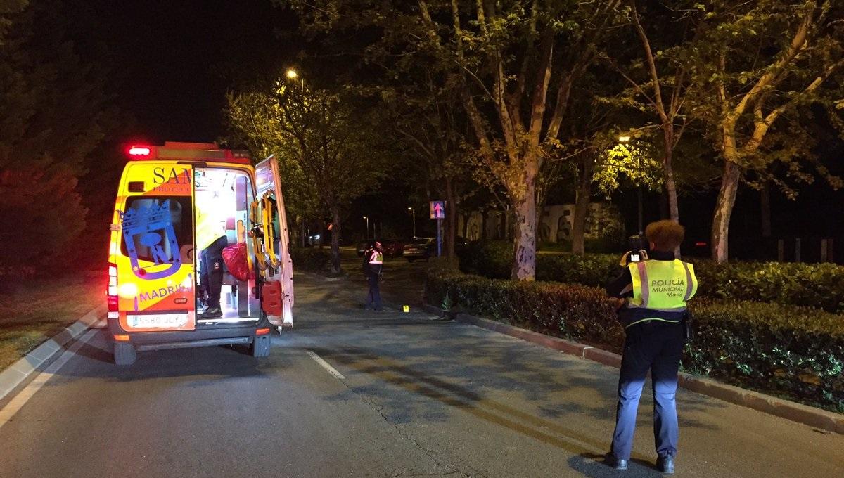 Una mujer de 47 años muere tras ser atropellada en Carabanchel por un vehículo que se ha dado a la fuga