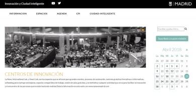 """El Ayuntamiento de Madrid estrena la web """"Madridinnova"""": toda la innovación a un clic"""
