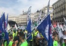 8.000 policías locales de toda España se manifiestan en Madrid para reclamar la jubilación a los 59 años
