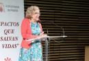 """Manuela Carmena: """"Me siento orgullosa de la solidaridad de España con la acogida a los migrantes del Aquarius"""""""