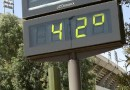 La AEMET mantiene el nivel de alerta amarillo por altas temperaturas en Madrid para este lunes