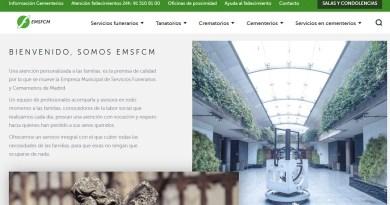 La Empresa Municipal de Servicios Funerarios y Cementerios de Madrid estrena página web