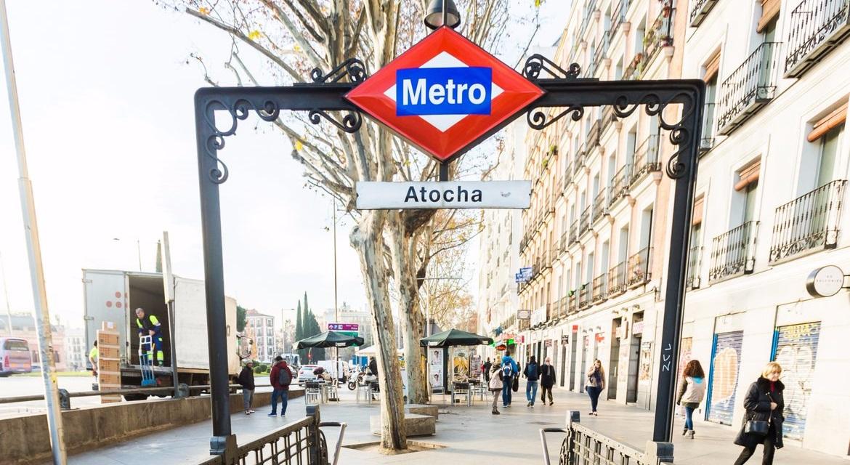 Las estaciones de Metro de 'Atocha' y de 'Metropolitano' cambiarán de nombre