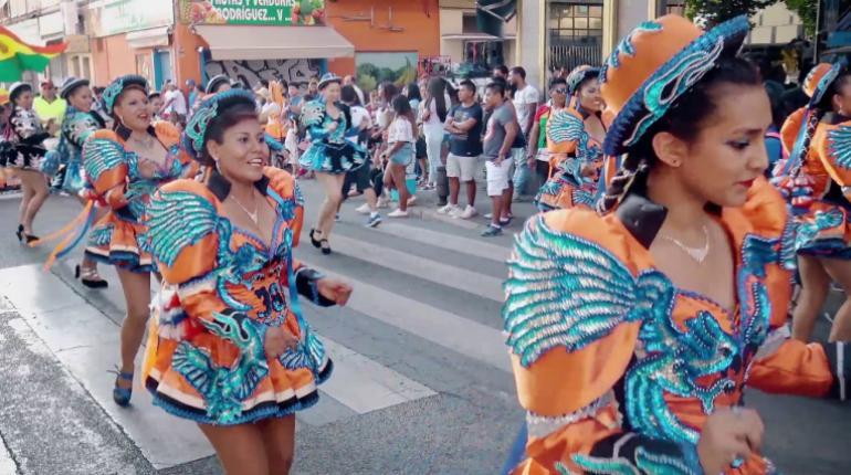 La entrada folclórica de Urkupiña recorrerá este domingo el Paseo del Prado entre Atocha y Cibeles
