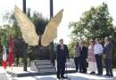 Madrid y México reafirman sus lazos de unión con la escultura Alas de México en Fuencarral