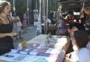 Jorge García Castaño y Rommy Arce visitan la Feria de Economía Social de Madrid