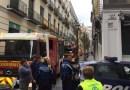 Un incendio calcina la cocina de un restaurante de Chueca y genera una gran humareda