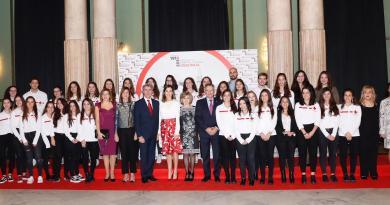 El Hospital Central de la Cruz Roja celebra su centenario con la presencia de la Reina Letizia
