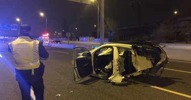 Dos muertos y dos heridos graves en un brutal accidente en Hortaleza