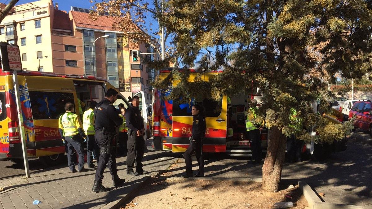 Detenido el hombre que apuñaló ayer a otro en Carabanchel por apoyar una pizza sobre su coche