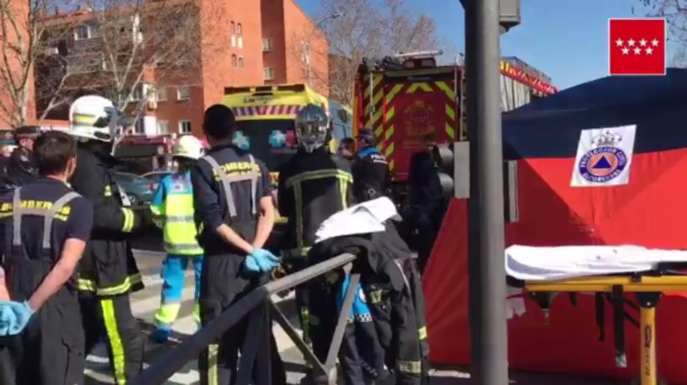 Una mujer de 72 años muere tras ser atropellada en Alcobendas y quedar atrapada bajo el vehículo