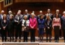 Manuela Carmena asiste a la reunión del Patronato de la Escuela Superior de Música Reina Sofía