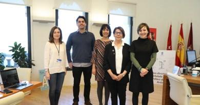 Inés Sabanés recibe a la International Transport Workers Federation