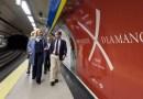 El Quijote conquista la estación de Metro de Plaza de España con motivo del Día del Libro
