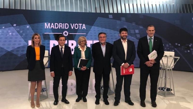 ¿Quién ha ganado el debate en Telemadrid entre los candidatos a la Alcaldía de Madrid?