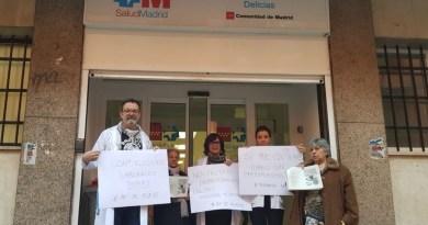 Médicos y pediatras de la Atención Primaria madrileña van este martes a la huelga