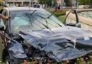 Persecución de película en Ciudad Lineal tras robar un coche e intentar atropellar a un policía