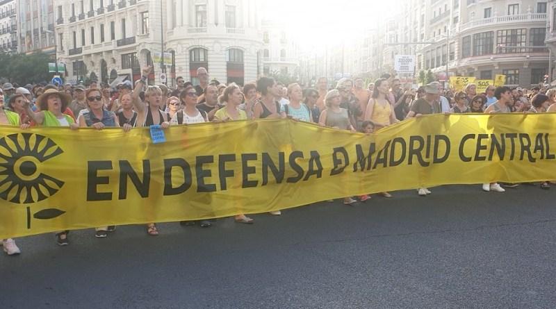 La Plataforma En Defensa De Madrid Central Presenta Otro: Piquetes Informativos Se Desplegarán Este Lunes En Madrid