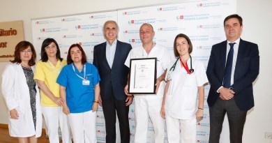 El Hospital Infanta Leonor recibe 15 certificaciones de calidad en servicios y procesos asistenciales