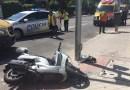 Un motorista de 60 años herido grave tras colisionar con un turismo en Ciudad Lineal
