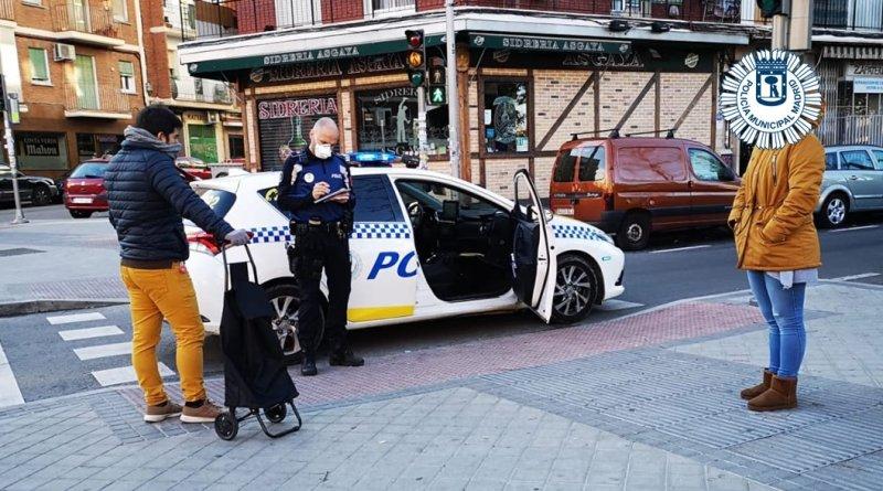 221 multas ayer en Madrid por incumplir el Estado de Alarma ...