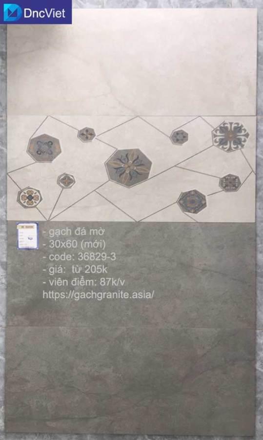 gạch đá mờ ốp tường 30x60