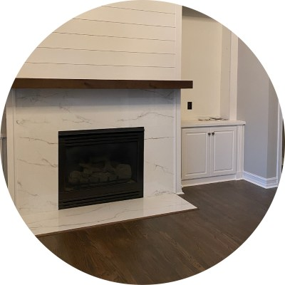 Fireplace Circle Image
