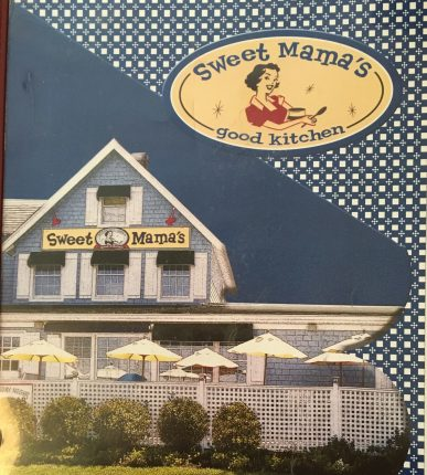 Restaurant review sweet mammas northport New York menu image