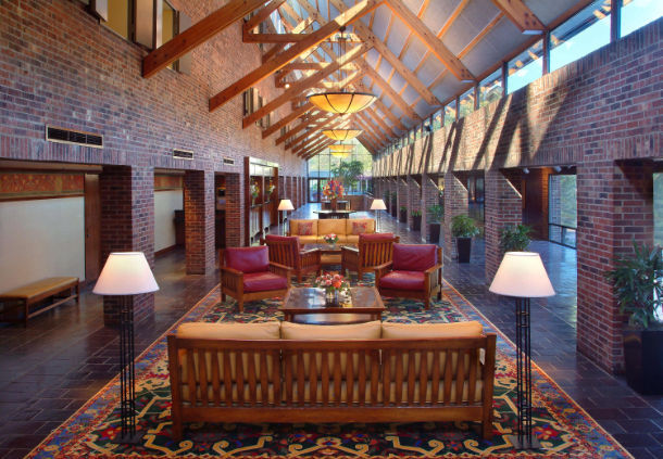 Princeton Marriott Forrestal Lobby