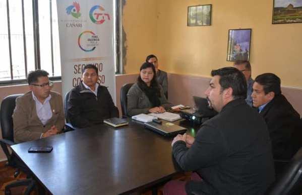 [#DESIGNACIÓN] En sesión del Directorio de la #Mancomunidad del Pueblo Cañari, i