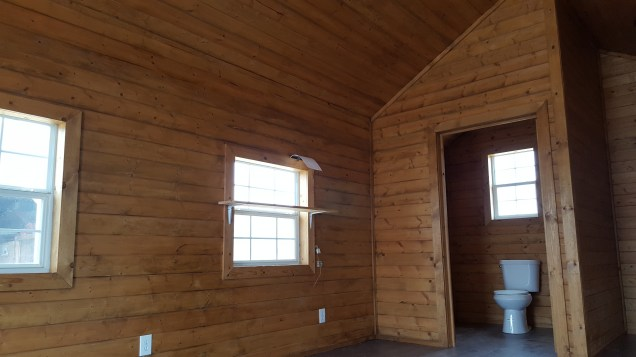 d cabin finished inside
