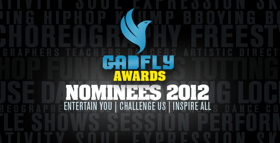 Gadfly Street dance awards nominees 2012