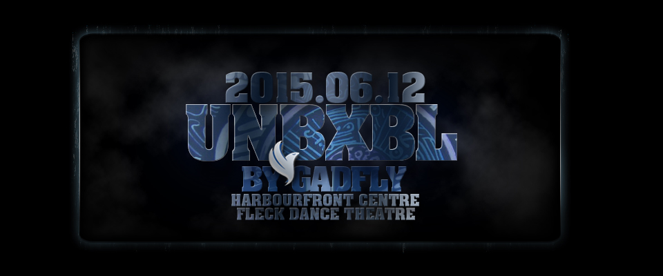 Header for UNBXBL a Dance Theatre Production by Gadfly