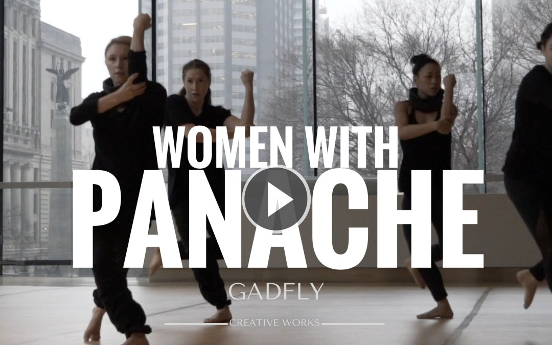 WOMEN WITH PANACHE – Happy International Women's Day A LA GADFLY
