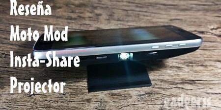 Reseña: Moto Mod Insta-Share Projector