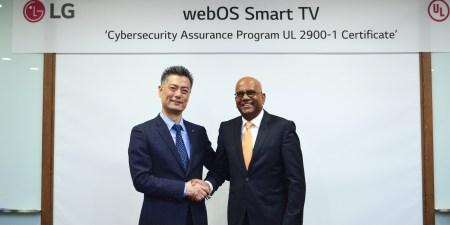 LG obtiene certificado por seguridad cibernética en sus Smart TV