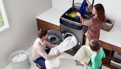 Samsung lanza su nuevo sistema de lavado 4 en 1 en el CES 2017 ... dc23a9974d6f