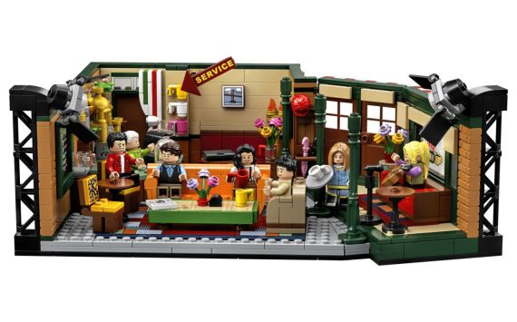 Lego, Friends and Central Perk – need I say more?