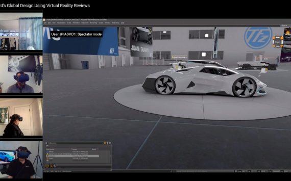 VR keeps Ford's design studio connected