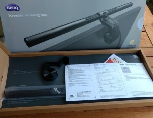 BenQ Screenbar Unboxing