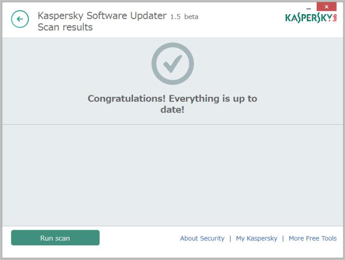 Kaspersky Security Scan8