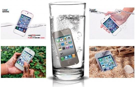 iPhoneを防水できるわずか0.25ミリケース「Case Marine」