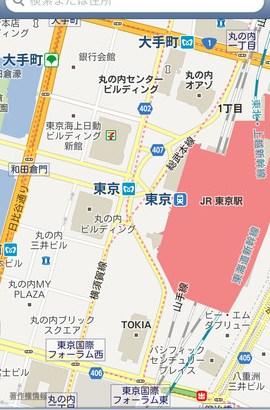 iPhone5/iOS6向けのGoogleマップアプリ ClassicMap